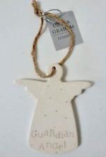 Ceramica da appendere ANGELO CUSTODE battesimo articolo da regalo/Memorial regalo da Gisela Graham