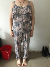 WOMENS 'HIPPI CHIC LONDON' JUMPSUIT SIZE 10
