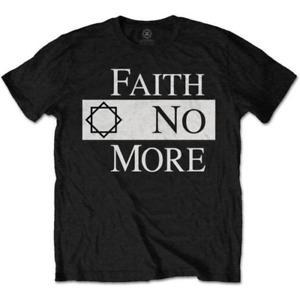 Faith No More - Classic Logo Black Shirt