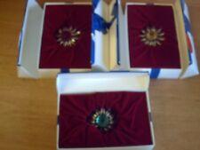 Swarovski Crystal-SET OF BOTH LARGE & MINI MARGUERITE-Complete with Original Box