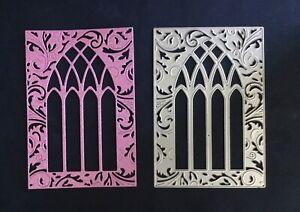 Gothic/Church/Arch/Window/Frame/Ornate/Die / Cut/Cutting/BEAUTIFUL