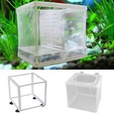 Breeding Isolation Fish Tank Plastic Frame Breeder Fry Hatchery Net Incubator