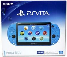 Brand New Sony Playstation PS Vita Wi-Fi PCH-2000 ZA23 Console Aqua Blue *Con*