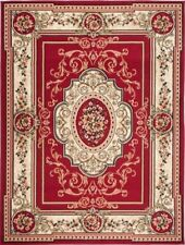 Simbad F744A Tappeto Classico Floreale Persiano Red