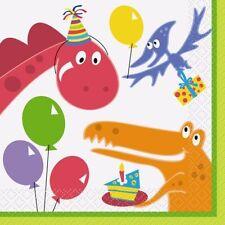Multi-Colour Birthday, Child Party Napkin