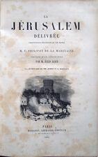 1864 – TORQUATO TASSO, LA JÉRUSALEM DÉLIVRÉE – LA GERUSALEMME LIBERATA IN PROSA