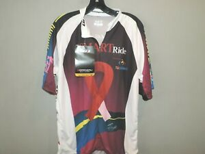 Mens Louis Garneau Graphic 1/2 Zip Cycling Jersey Shirt SZ XL Quick Ship NWT