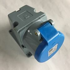MK 16A 4PIN Commando Industrial Socket Outlet 9H Surface Mounting 3P+E