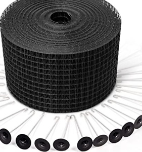 30 METRES  STAINLESS STEEL MESH AND 100 CLIPS SOLAR PANEL BIRD PROOF MESH KIT