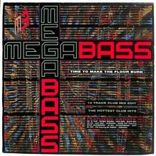 """Megabass / The Mastermixers - Time To Make The Floor Burn  - 7"""" Record Single"""
