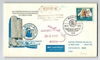 Germany 1967 Philatelic Chicago to Bonn Air Cover - Z13123