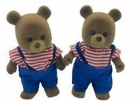 Maple Town Bobby Bear TWINS Calico Critters Sylvanian Families TONKA RARE HTF