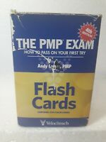 The PMP Exam: Flash Cards, Fourth Edition by Crowe PMP  PgMP, Andy Crowe's 2010.