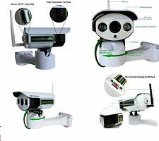 TELECAMERA ESTERNA IP CAMERA HD 1080p WIRELESS LED IR LAN MOTORIZZATA WIFI RETE