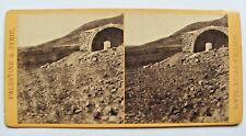 RARE PHOTO STÉRÉOSCOPIQUE STEREOVIEW / PALESTINE TOMBEAU DE JOSEPH NAPLOUSE