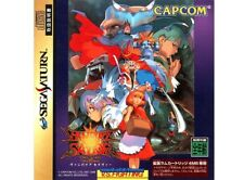 # Sega Saturn-Vampire Savior incl. spinecard (sin ram) (jap) - como nuevo #