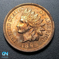 1899 PROOF Indian Head Cent Penny  --  MAKE US AN OFFER!  #G9477