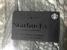 STARBUCKS GIFT CARD SPECIAL EDITION HERITAGE RECYCLED PAPER