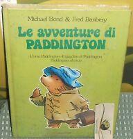 1 LIBRO VINTAGE BOOK BAMBINI RACCONTI STORIE,LE AVVENTURE DI PADDINGTON ORSETTO