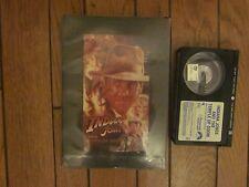 VINTAGE 1984 INDIANA JONES AND THE TEMPLE OF DOOM BETA VIDEO MOVIE TAPE