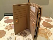 NEW PAUL SMITH SMOOTH TAUPE LADIES LEATHER PURSE WALLET