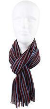 Schal Strickschal Streifen modisch mehrfarbig 50% Wolle (Merino) 50% Acryl R635