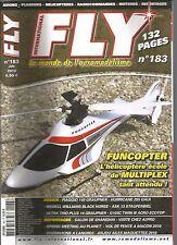 FLY N°183 FUNCOPTER / PIAGGIO 149 GRAUPNER / HURRICANE 255 GAUI / ULTRA TRIO +