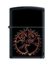 Zippo 218 Shiva Hindu God Barrett Smythe Collection Lighter RARE
