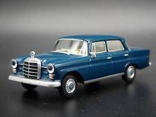 MERCEDES-BENZ 200 D W110 RARE 1:64 SCALE COLLECRTIBLE DIORAMA DIECAST MODEL CAR