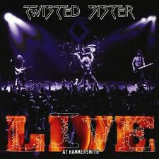 TWISTED SISTER - LIVE AT HAMMERSMITH - 2CD NEW SEALED 2001