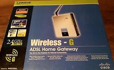 Cisco Linksys WAG354G Wireless-G ADSL Home gateway complet