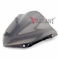 For Yamaha MT-09 FZ-09 2014 2015 2016 Windshield Windscreen Pare-brise Smoke