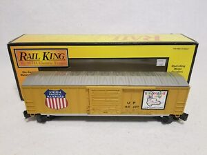 Rail King / MTH Union Pacific 50 Double Door Plugged Boxcar 7469