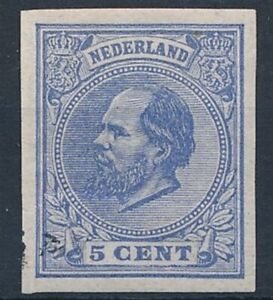 [8433] Nederland 1872 good stamp very fine MH imperforated
