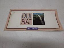 Supplemento uso e manutenzione originale Fiat anni 80 90.  [5958.16]