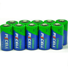 (Pack of 10) PKCELL Lithium CR123A CR17345 3V Photo Li-MnO2 Camera Batteries