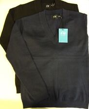 New N'VO by Lanctot V Neck Sweater, Womens Athletic Apparel, Golf Clothing