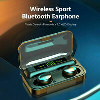 Wireless Bluetooth Earphones Headphones for Headsets iOS Android Earbuds Sports