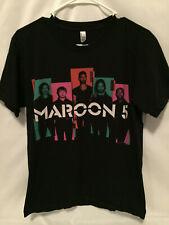 Maroon 5 2013 Tour Multicolored Band T-Shirt Men's Size Medium