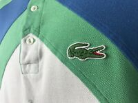VTG 90s Lacoste Color Block Polo Mens Size 6 Large Embroidery 27 Classic Fit