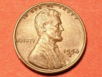 1954-S RPM-010 S/S Lincoln Wheat Cent Extremely RARE
