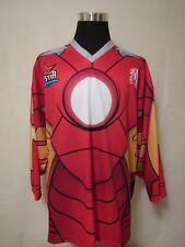 Ecsl 2016 All Star 2Xl Iron Man Printed Ice Hockey Jersey