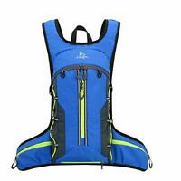 Fistcale Lightweight Breathable Bike Backpack, 8L Foldable Running Daypack,