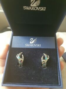 Swarovski earrings, Boxed