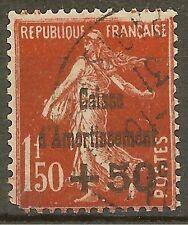 "FRANCE STAMP TIMBRE N°277 ""C. AMORTISSEMENT SEMEUSE 1F50 1931"" OBLITERE A VOIR"