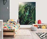 3D Untergang Drachen M32 Wandaufkleber Wandtattoo Tapeten Wandbild Vincent Ava