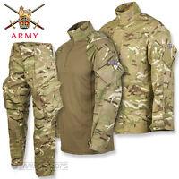 BRITISH ARMY PCS SET TROUSERS SHIRT UBACS MTP MULTICAM ISSUE UNIFORM USED
