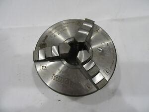 "Rohm ZS 140 mm ~ 5.5"" ZS140 Centric 3 Jaw Lathe Chuck Part # 164875 5000 RPM  #2"