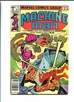 Machine Man 15 VF/NM (1978) Steve Ditko Marvel Comics CBX1N