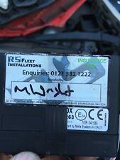 Meta System Metasystem Insurance GPS Black Box Tracker Data Logger System ECU